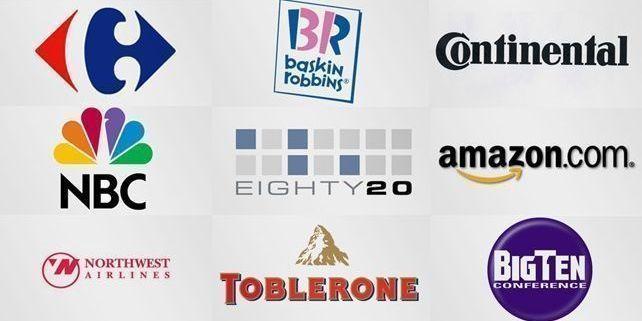 Logotipos con mensajes ocultos en el blog de la agencia de publicidad telling