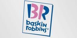 Logotipos con mensaje: Baskin Robbins