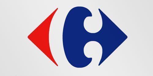 Logotipos con mensaje: Carrefour