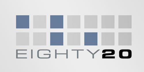 Logotipos con mensaje: Eighty20