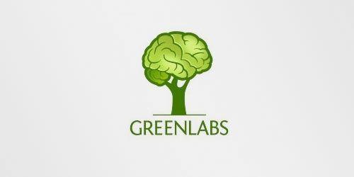 Logotipos con mensajes ocultos: Greenlabs