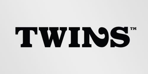 Logotipos con mensajes ocultos: Twins