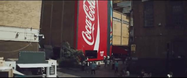 Agencia de publicidad telling |Coca-Cola y la vending machine más grande