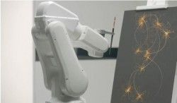 Un robot que pinta tus sueños