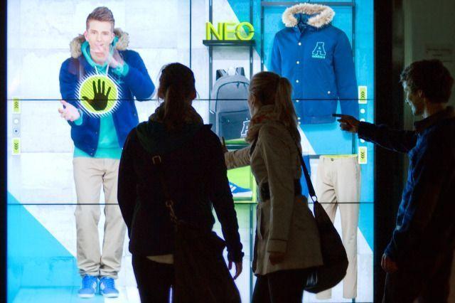 Adidas neo virtual shopping