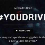Mercedes y twitter