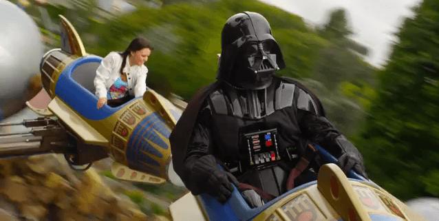 Star tours, Darth Vader se va a Disneyland