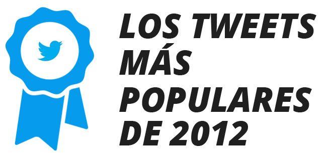 Los tweets más populares de 2012