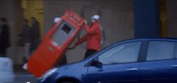 El cajero de la felicidad de Coca-Cola