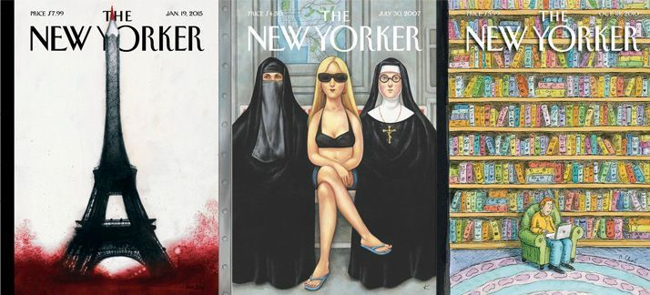 Portadas de la revista New Yorker