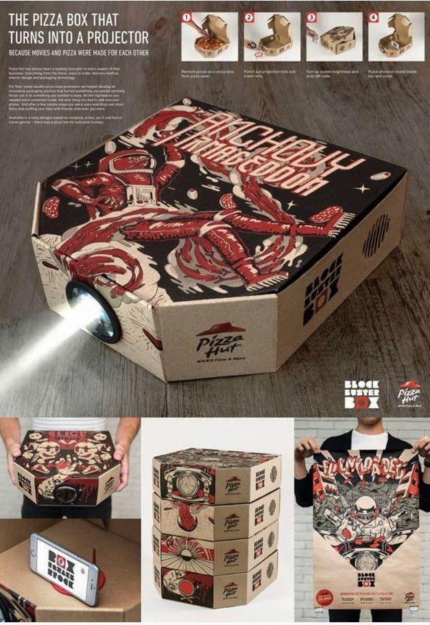 Campaña Publicidad Pizza Hut