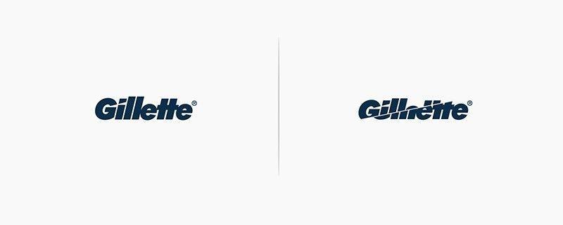 Rediseño Logo Gillette
