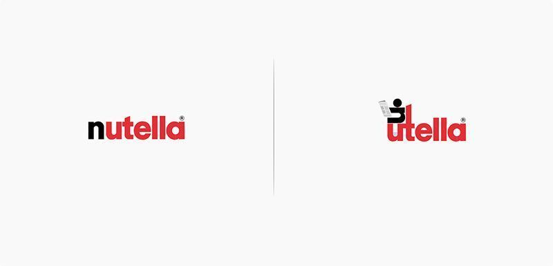 Rediseño Logo Nutella