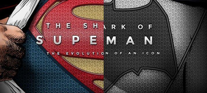 Evolución símbolos Batman v Superman