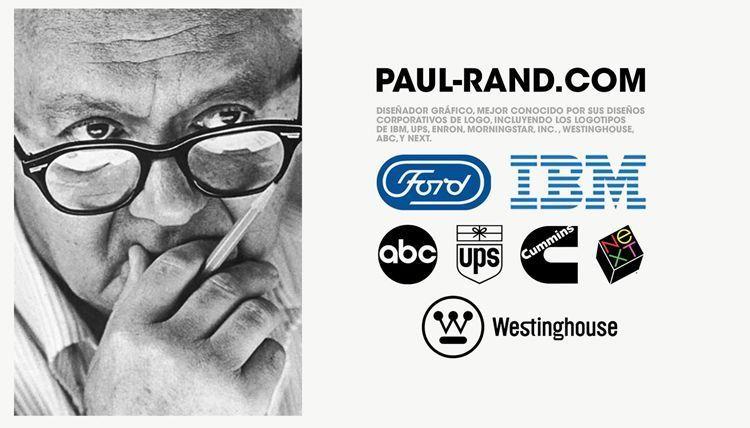 Grandes Diseñadores Gráficos: Paul Rand