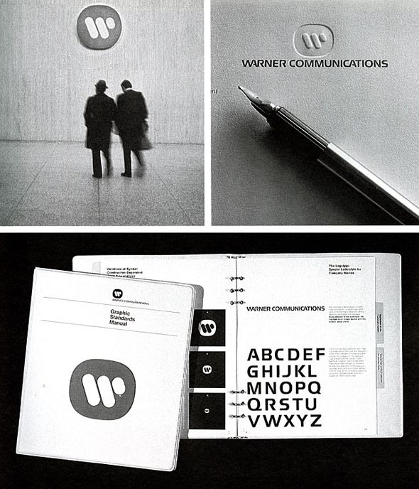 Logotipo de Warner Music Group por Saul Bass