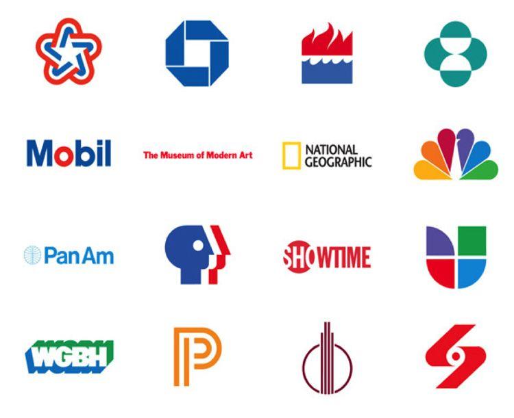 Logotipos Ivan Chermayeff & Tom Geismar