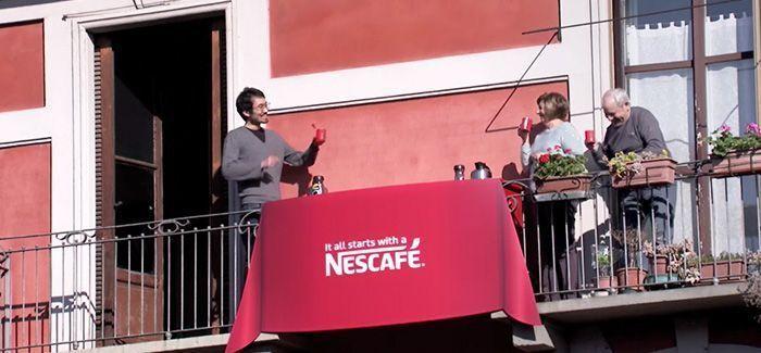 Acción de Nescafé