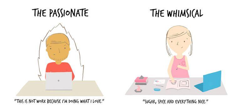 Siete Tipos de Diseñadores Gráficos