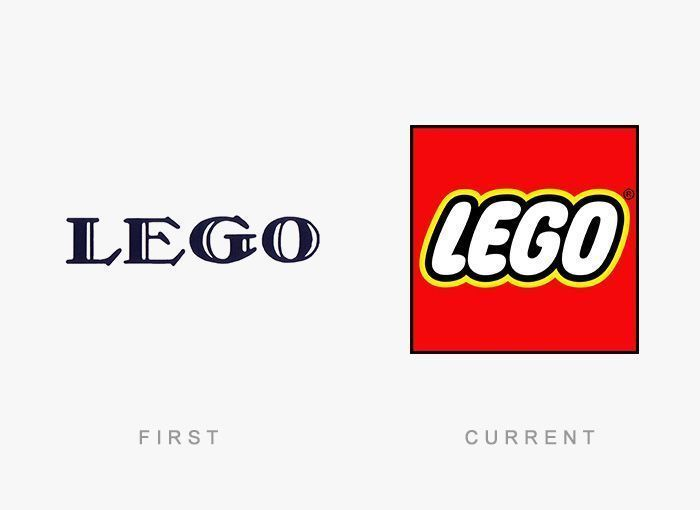 Logo Lego Antes y Ahora