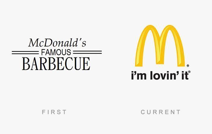 Logo McDonalds Antes y Ahora