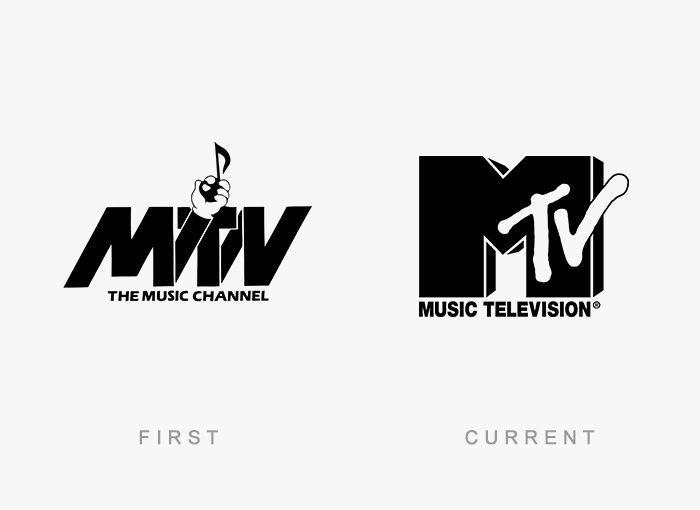 Logo MTV Antes y Ahora