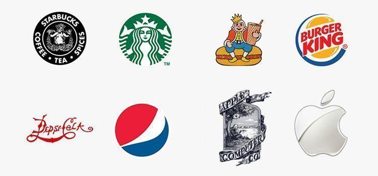 Como era el primer logotipo de las grandes marcas - Marcas de te ...