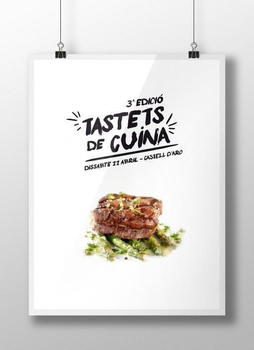 Póster Tastets de Cuina
