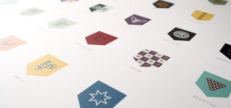 Diseño Escudos Juego de Tronos