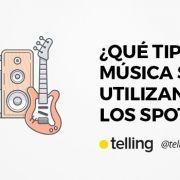 TIpo de música utilizada en Spots