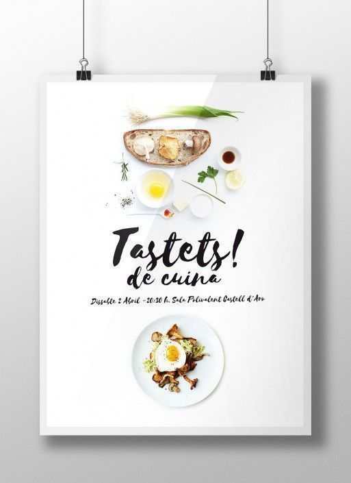 Poster Tastets de Cuina