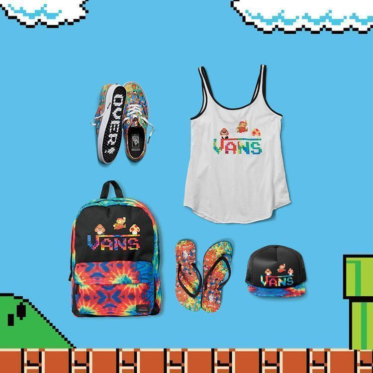 Colección Vans y Nintendo