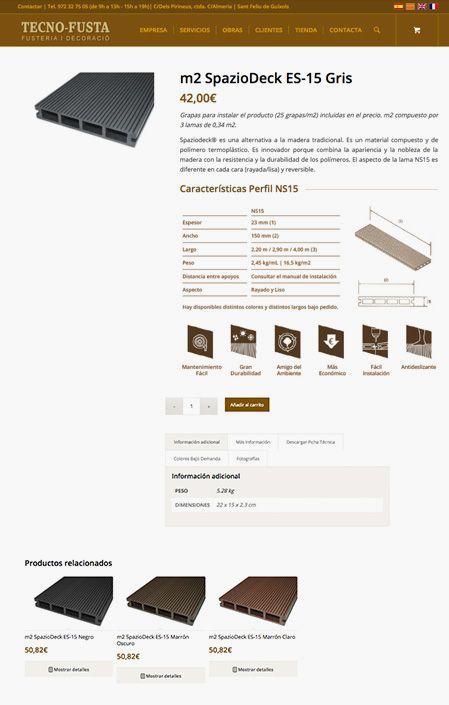 Producto Tienda Online