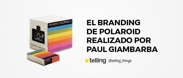 Branding de Polaroid por Paul Giambarba