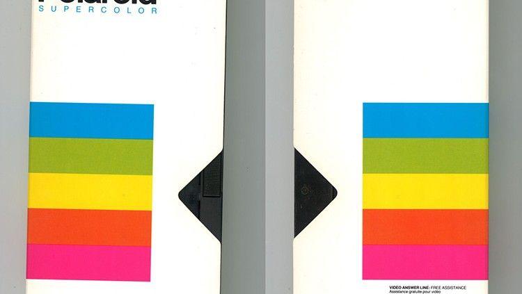 Diseño Gráfico cintas VHS: Polaroid