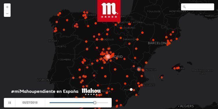 Mejor marca en redes sociales: Mahou