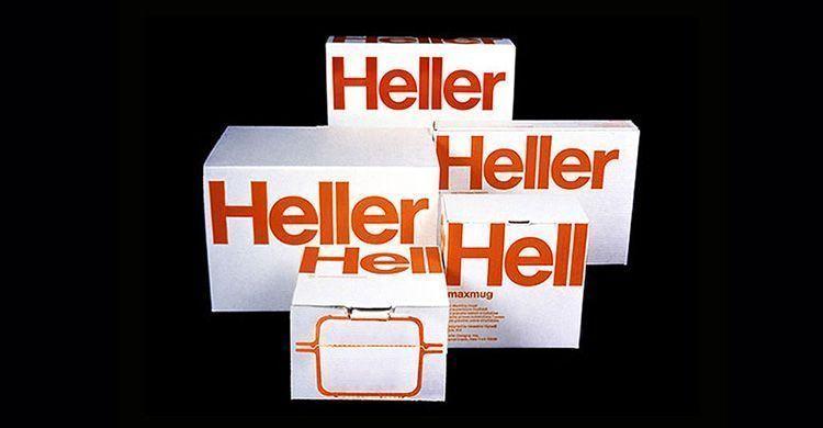 Logo Heller de Massimo Vignelli