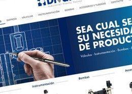 Web para Empresa Sector Industrial