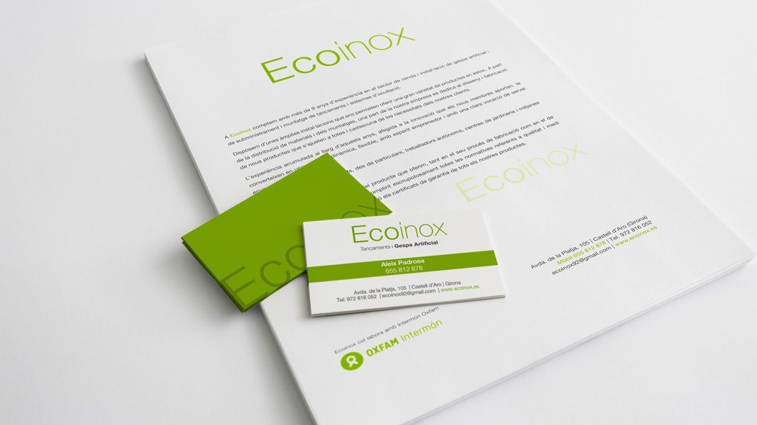 Papelería para Ecoinox
