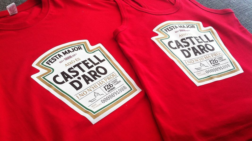 Camisetas conmemorativas