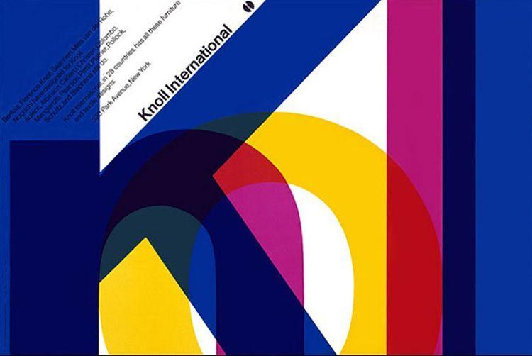Logo Knoll Massimo Vignelli