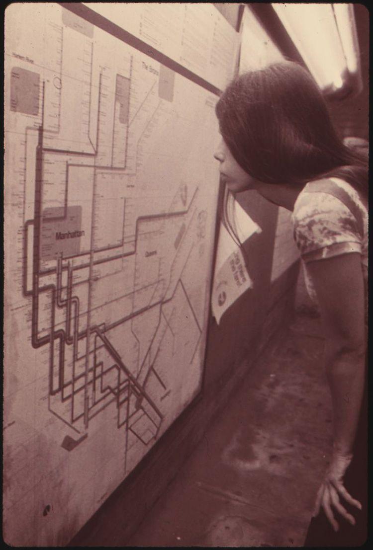 Massimo Vignell Plano Metro NY