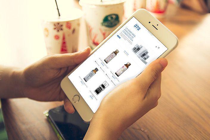 Web Responsive con Tienda Online