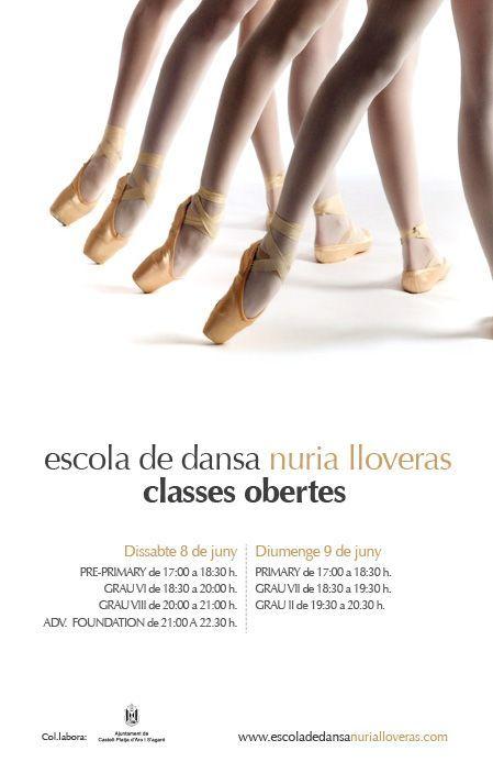 Flyer para Escuela de Baile