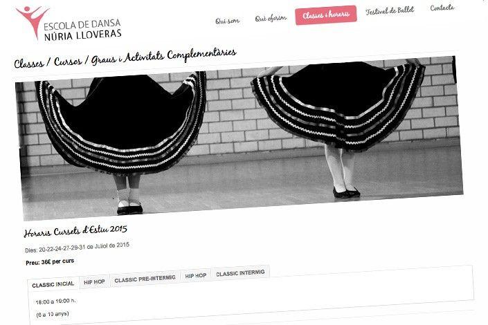 Web Escuela de Baile