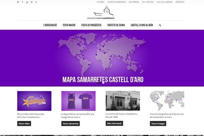 Site para promocionar evento