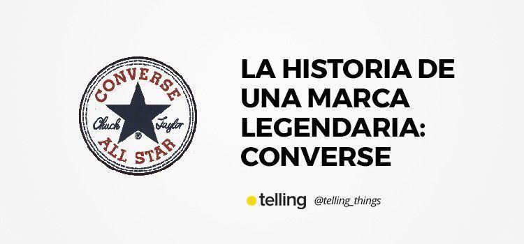 Historia de la marca Converse