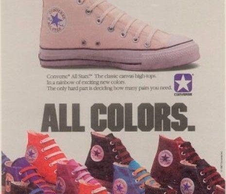 Publicidad Zapatillas Converse