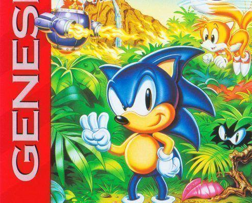 Sonic 3 ArtCover Greg Martin