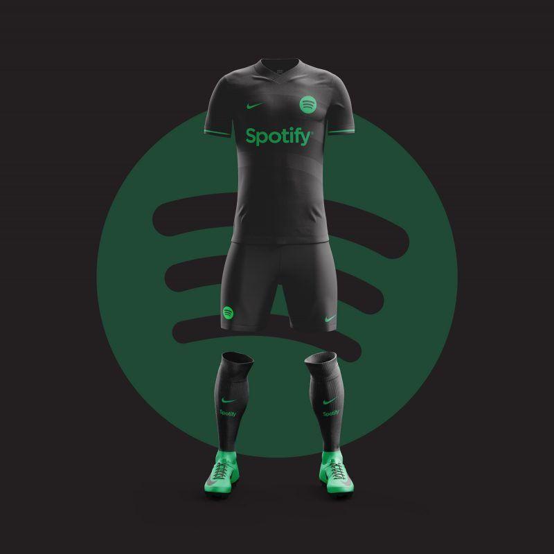 Equipaciones de la Redes Sociales   Spotify FC